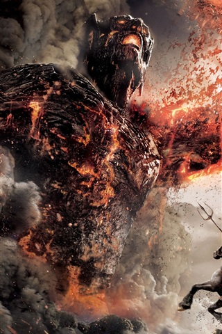 iPhone Wallpaper Wrath of the Titans HD poster