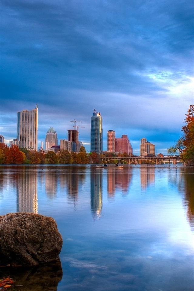 Wallpaper Austin Texas Lake Landscape 1680x1050 Hd Picture