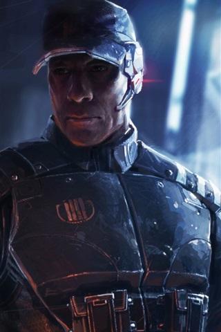 iPhone Wallpaper Mass Effect 3 wide