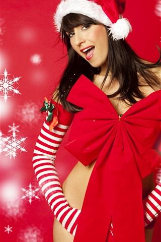 Was zu bekommen, ein Mädchen, das Sie für Weihnachten