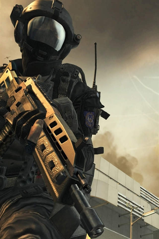 2012 Call of Duty: Black Ops 2 640x960 iPhone 4/4S wallpaper