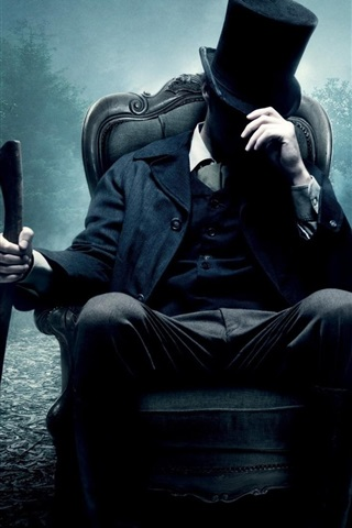 iPhone Wallpaper Abraham Lincoln: Vampire Hunter