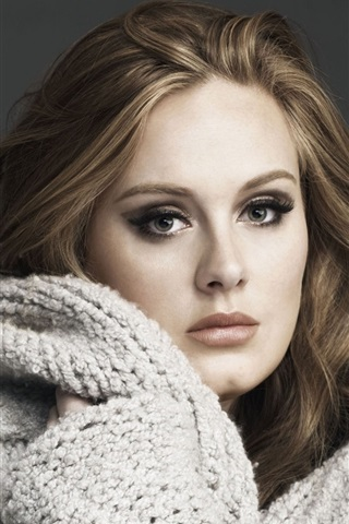 iPhone Wallpaper Adele 03