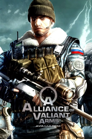 iPhone Wallpaper Alliance of Valiant Arms