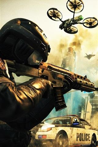iPhone Papéis de Parede Call of Duty: Black Ops II HD