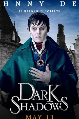 iPhone Papéis de Parede Johnny Depp em Dark Shadows