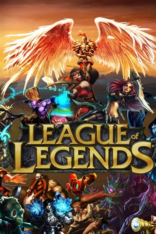 iPhone Papéis de Parede League of Legends ampla