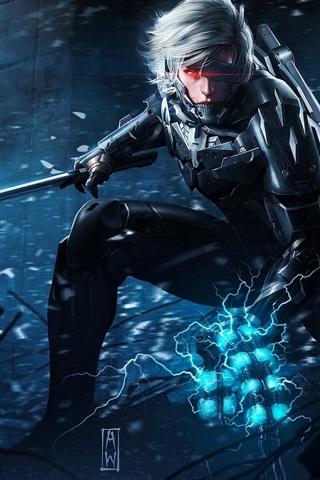 iPhone Papéis de Parede Metal Gear Rising: Revengeance HD