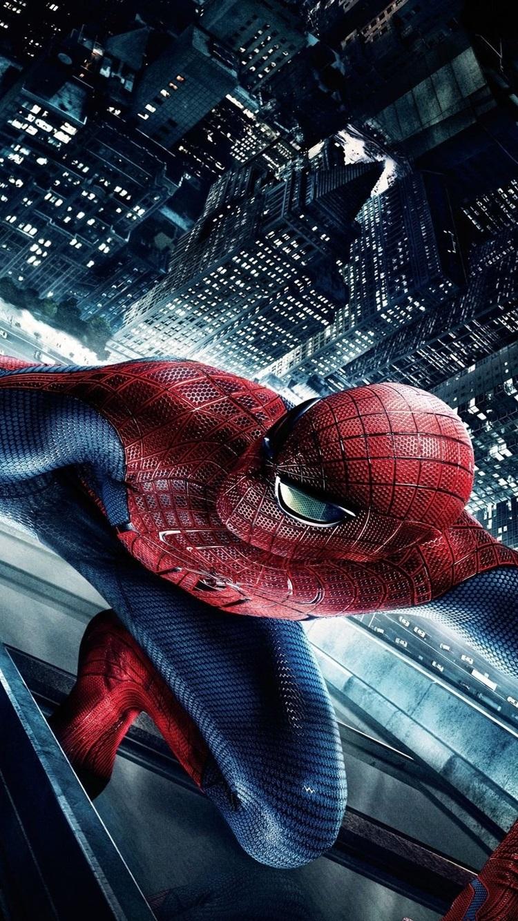 アメイジングスパイダーマンの映画hd 750x1334 Iphone 8 7 6 6s 壁紙