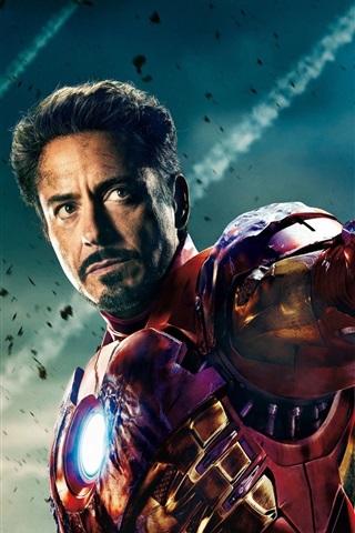 iPhone Wallpaper The Avengers 2012 Iron Man