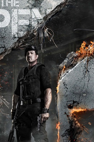 iPhone Wallpaper The Expendables 2 HD