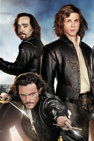 iPhone Wallpaper The Three Musketeers HD