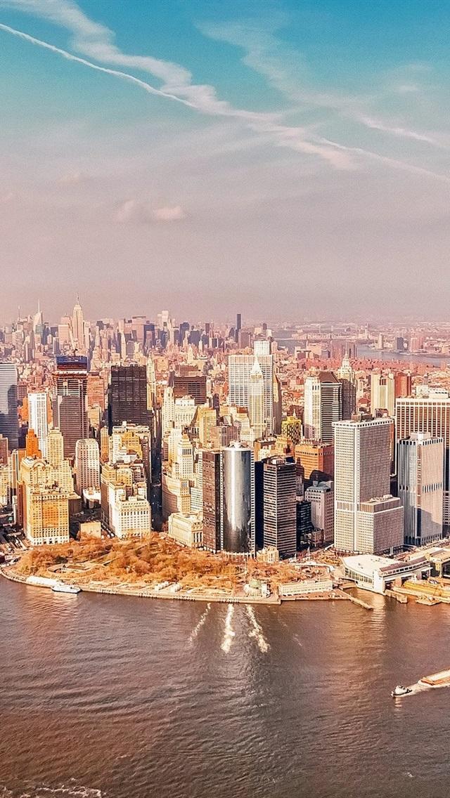 壁紙 アメリカ ニューヨークマンハッタン 19x10 Hd 無料のデスクトップの背景 画像