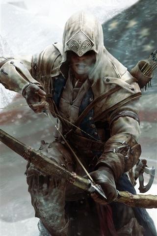 iPhone Wallpaper 2012 Assassin's Creed 3 HD