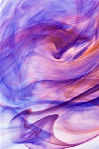iPhone Papéis de Parede Tinta colorida na água