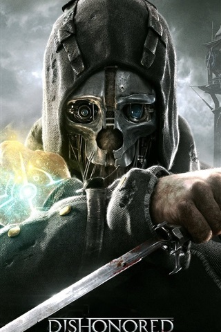 iPhone Wallpaper Dishonored