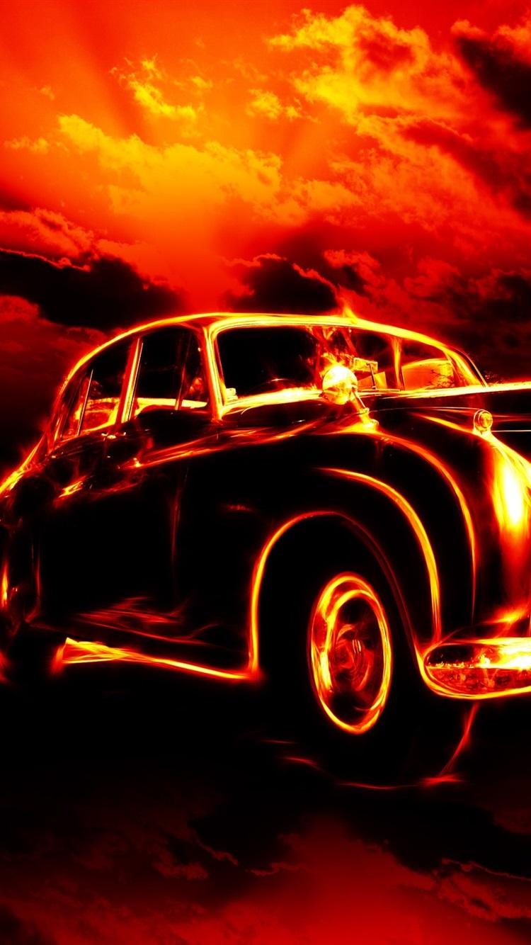 Feuer auto kreativ 2560x1600 hd hintergrundbilder hd bild - Best classic wallpaper ...