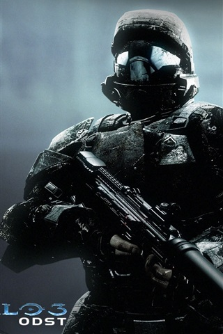 Halo 3 Odst 640x960 Iphone 4 4s Wallpaper Background