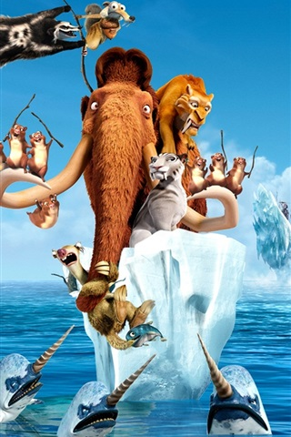 iPhone Wallpaper Ice Age 4