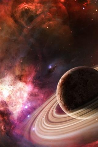 iPhone Wallpaper Jupiter's halo