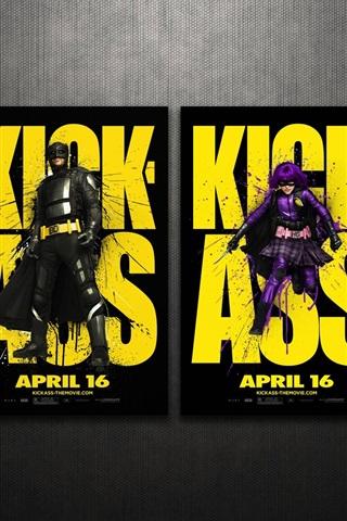iPhone Обои Kick-Ass 2010