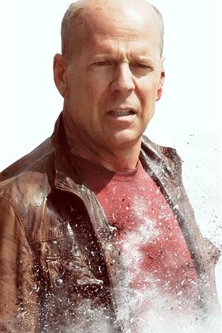 iPhone Wallpaper Looper, Bruce Willis