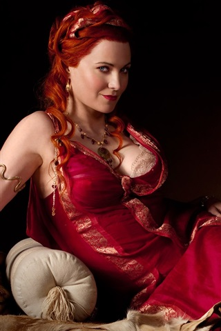 iPhone Wallpaper Lucy Lawless in Spartacus: Blood and Sand