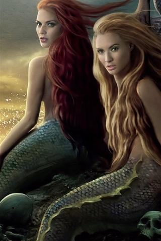 iPhone Hintergrundbilder Meerjungfrau in Fluch der Karibik HD