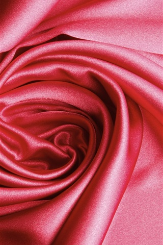 iPhone Wallpaper Pink cloth still life