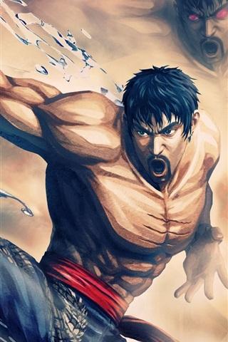 iPhone Wallpaper Street Fighter X Tekken