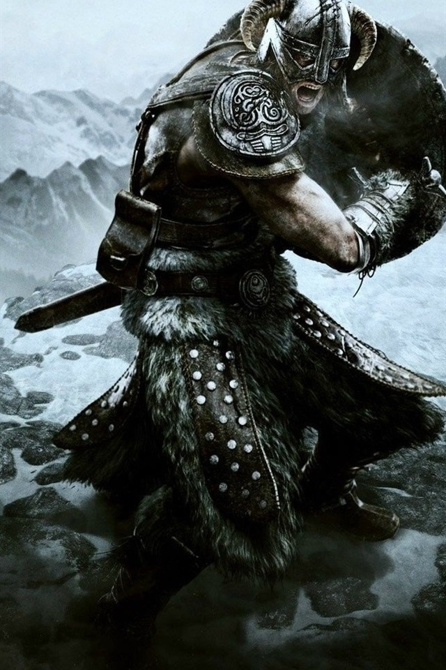 Wallpaper The Elder Scrolls V: Skyrim game HD 1920x1080 Full HD 2K