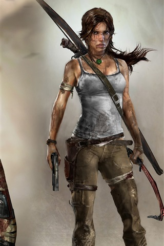 iPhone Papéis de Parede Tomb Raider 2012 HD