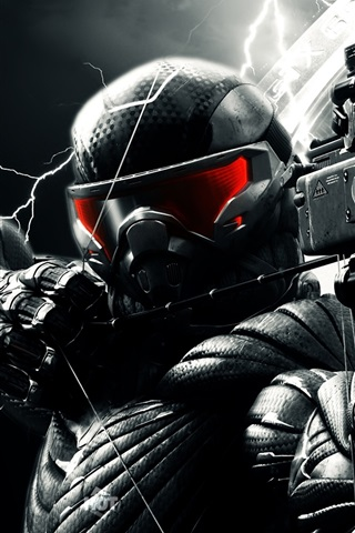 iPhone Wallpaper Crysis 3 game 2013