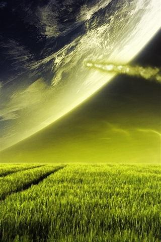 iPhone Wallpaper Dream prairie sky
