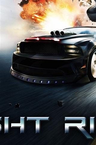 iPhone Wallpaper Knight Rider
