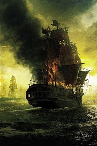 iPhone Papéis de Parede Pirates of the Caribbean