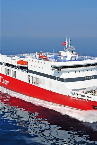 iPhone Wallpaper Superfast Ferries