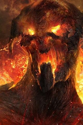 iPhone Papéis de Parede Wrath of the Titans HD 2012