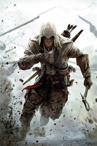 iPhone Wallpaper 2012 game Assassin's Creed 3