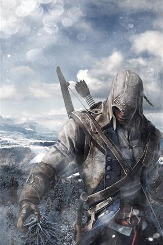 Assassin S Creed 3 Hd 2012 640x960 Iphone 4 4s Wallpaper