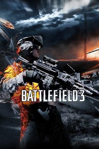 iPhone Wallpaper Battlefield 3 game HD