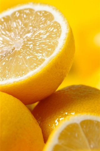 iPhone Wallpaper Fruit lemons
