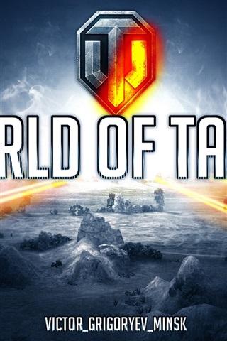 iPhone Papéis de Parede World of Tanks largura