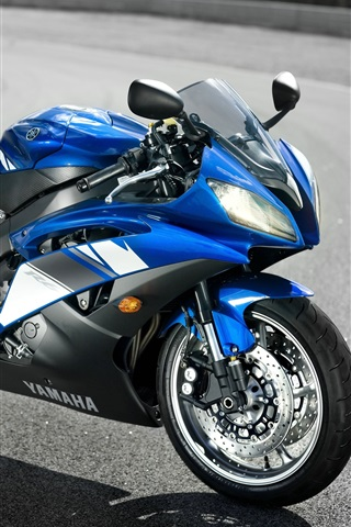 iPhone Wallpaper Cool Yamaha Motorcycle YZF-R6