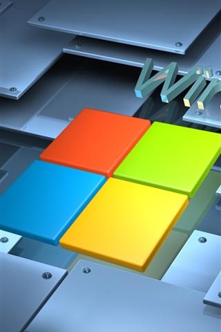 iPhone Papéis de Parede Microsoft Windows 8 logo Sistema