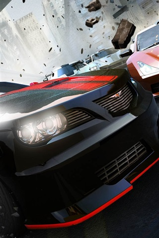 iPhone Wallpaper Ridge Racer Unbounded PC game