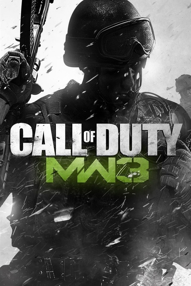 Call Of Duty Mw3 Hot Game 640x960 Iphone 4 4s Wallpaper