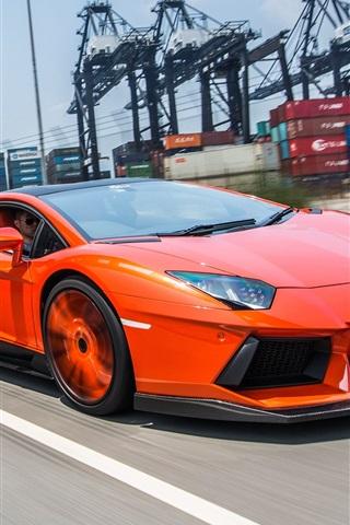 Lamborghini Aventador Lp900 4 High Speed 750x1334 Iphone 8 7 6 6s