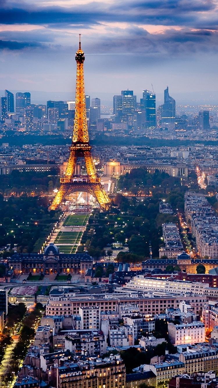 Wallpaper Paris The Beautiful City Night Scene 2560x1600 Hd Picture Image