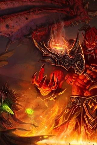 iPhone Wallpaper World of Warcraft: The Burning Crusade
